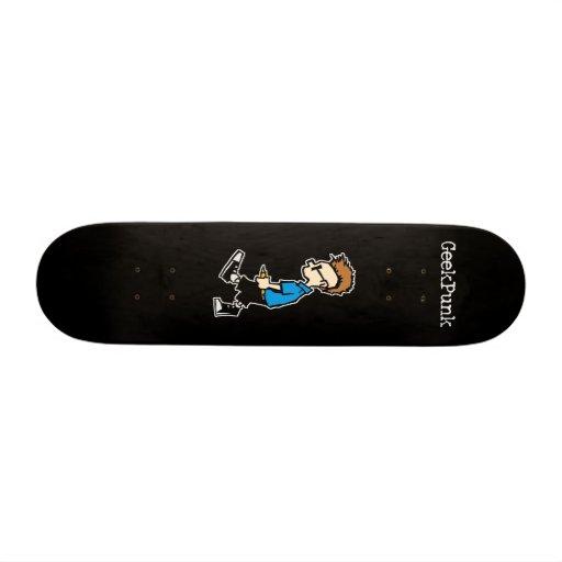 GeekPunk Black Skateboard