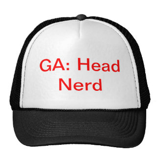 Geeks Anonymous Head Nerd Trucker Hat