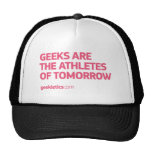 Geeks Are The Athletes of Tomorrow Mesh Hats