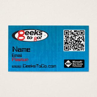 Geeks Card MVP Blair QR