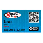 Geeks Card MVP Rich Double-Sided Standard Business Cards (Pack Of 100)