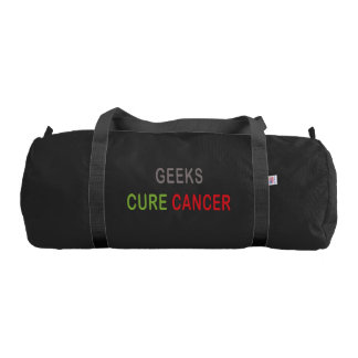 Geeks Cure Cancer Gym Bag
