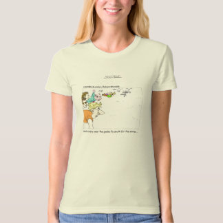 Geeks Flying South Womens Organic Cotton Tees