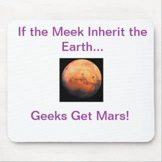 Geeks Get Mars Mouse Pad