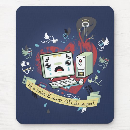 geeks in love mouse pad
