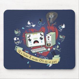 geeks in love mousepad