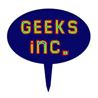 geeks Inc. Cake Toppers