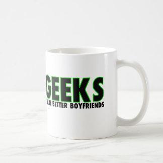 Geeks Make Better Boyfriends Coffee Mug