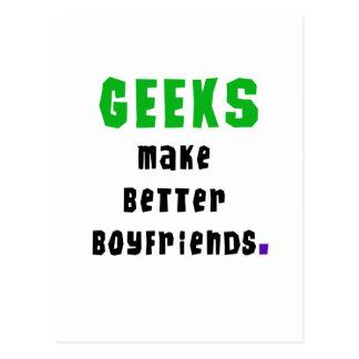 Geeks Make Better Boyfriends Postcard