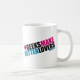 Geeks Make Better Lovers Classic White Coffee Mug