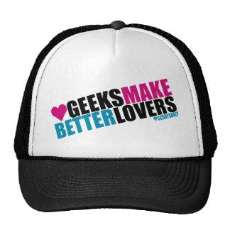 Geeks Make Better Lovers Trucker Hat