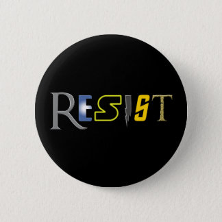 Geeks Resist! Pinback Button