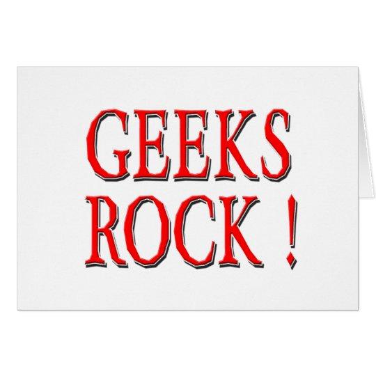 Geeks Rock !  Red Card