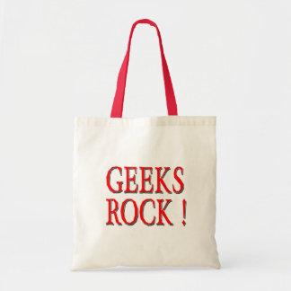 Geeks Rock !  Red Tote Bag