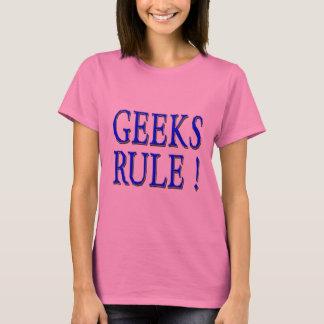 Geeks Rule !  Blue T-Shirt