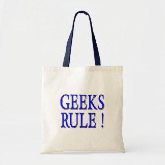 Geeks Rule !  Blue Tote Bag