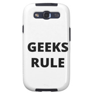 Geeks Rule Galaxy S3 Cover