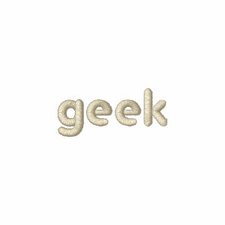 Geeks rule! - Embroidered Shirt