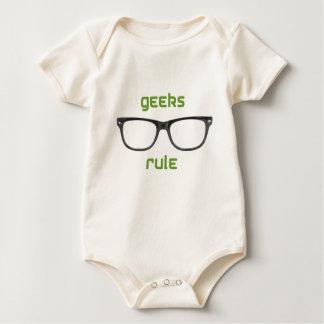 Geeks Rule Eyeglasses Baby Bodysuit