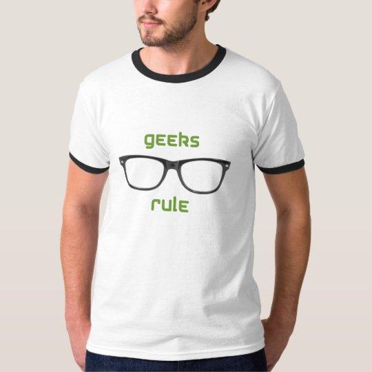 Geeks Rule Eyeglasses T-Shirt