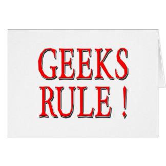 Geeks Rule !  Red Card