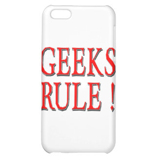 Geeks Rule ! Red iPhone 5C Cover