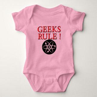 Geeks Rule !  with Atom Baby Bodysuit