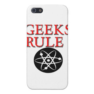 Geeks Rule ! with Atom Cases For iPhone 5