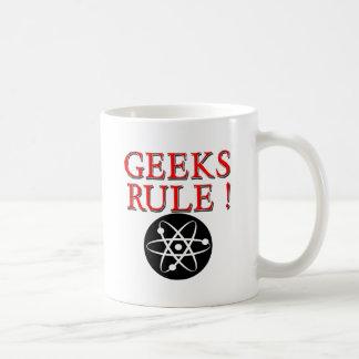 Geeks Rule !  with Atom Coffee Mug
