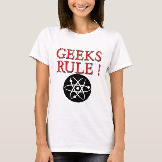 Geeks Rule !  with Atom T-Shirt