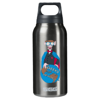 Geeks Shall Rule The World Thermos Bottle