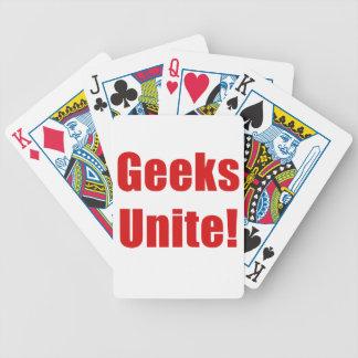 Geeks Unite Bicycle Card Deck