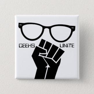 Geeks Unite! Button
