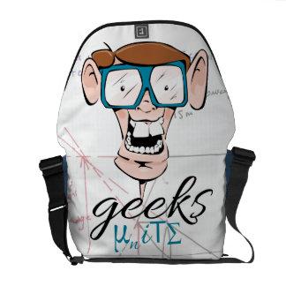 Geeks Unite Messenger Bags