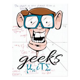 Geeks Unite Post Card