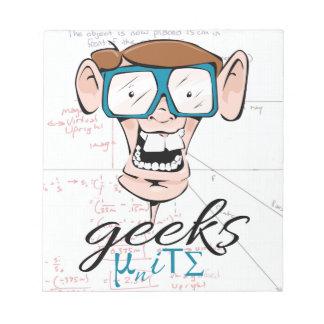 Geeks Unite Scratch Pad