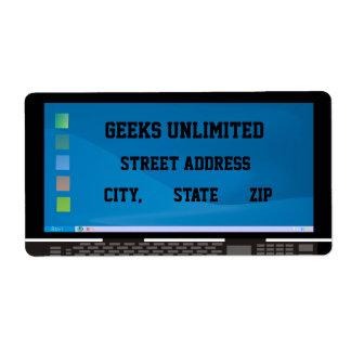 Geeks Unlimited Label