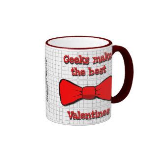 Geeks Valentine Ringer Coffee Mug