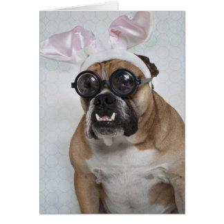 """""""Geekster Bunny"""" Card"""