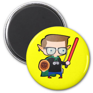 Geeky 2 Inch Round Magnet