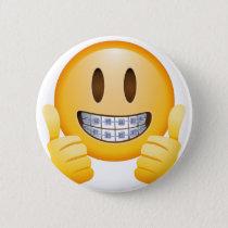 Geeky Braces Emoji Button