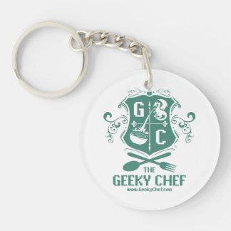 Geeky Chef Keychain