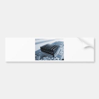 Geeky Computer Chip - GeekShirts Bumper Sticker