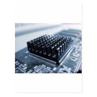 Geeky Computer Chip - GeekShirts Postcard