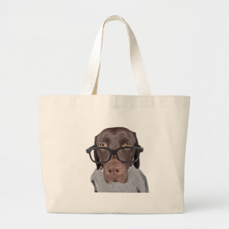 Geeky Dawg Jumbo Tote Bag