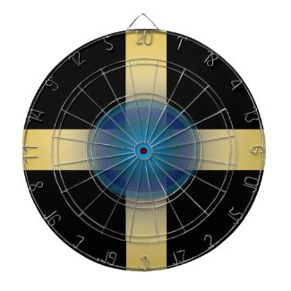 Geeky Design Dartboard Geek Chic
