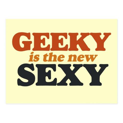 Geeky es el nuevo atractivo postal