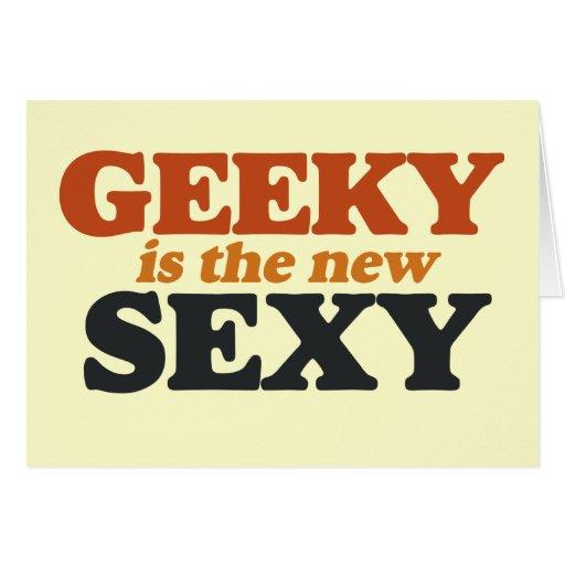 Geeky es el nuevo atractivo tarjeton