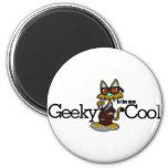 Geeky es el nuevo se refresca iman de frigorífico