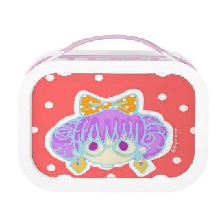 Geeky Girl Yubo Lunchbox